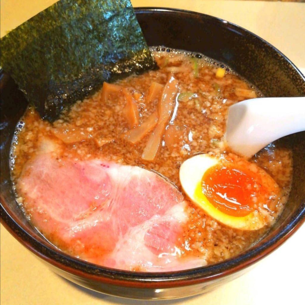 高円寺ラーメン「麺屋賢太郎」三刀流かさね味わい麺