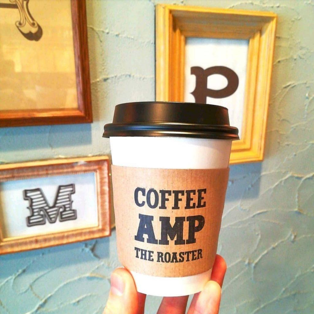 新高円寺カフェ「AMP」コーヒー・ブラジル