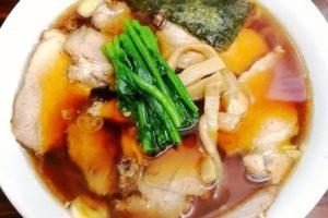 天王生姜醤油ラーメン