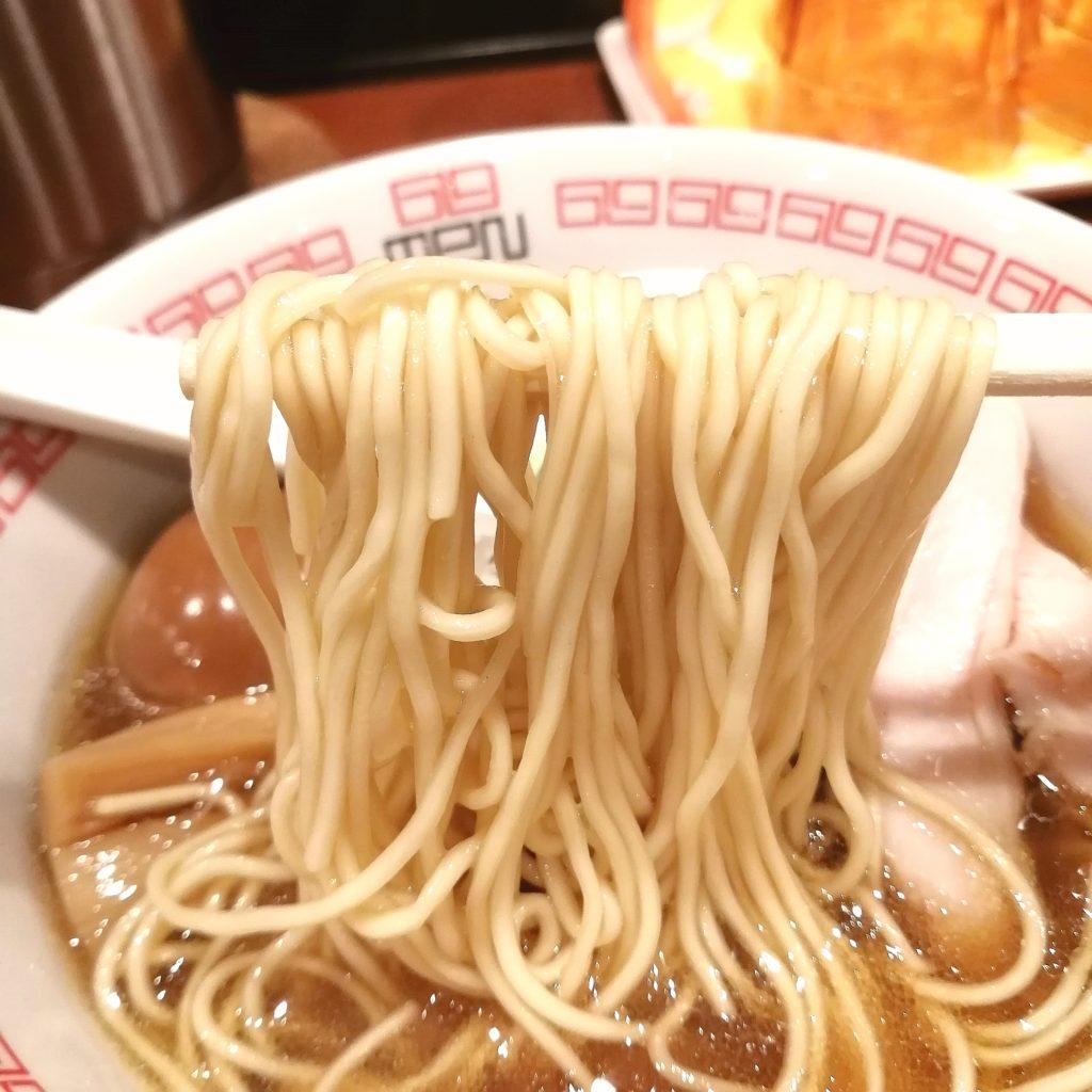 高円寺ラーメン「六九麺」鶏香 醤油六九麺・麺