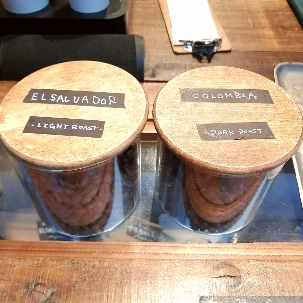 高円寺コーヒースタンド「Porta COFEE STAND」カフェラテのコーヒー豆
