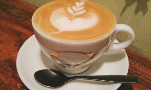 portacoffeestandカフェラテ