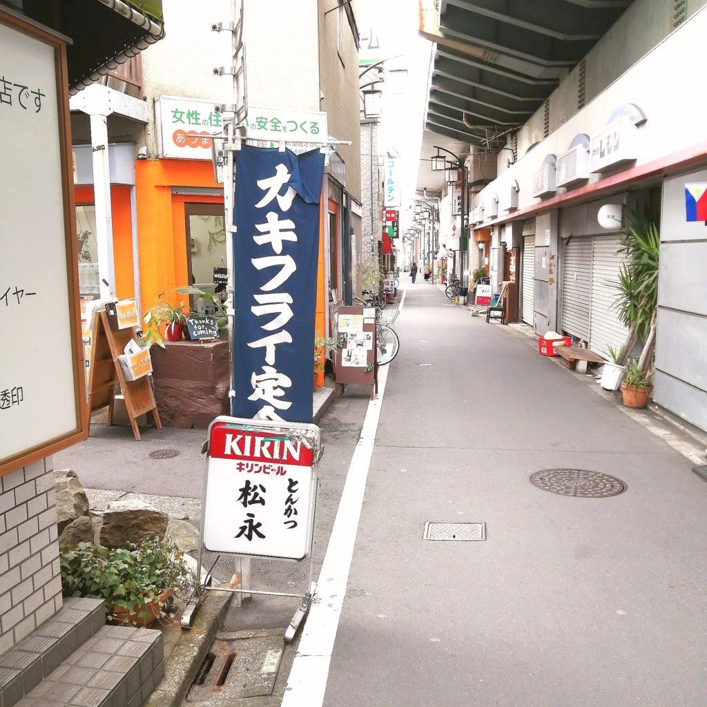 高円寺とんかつ「松永」周辺