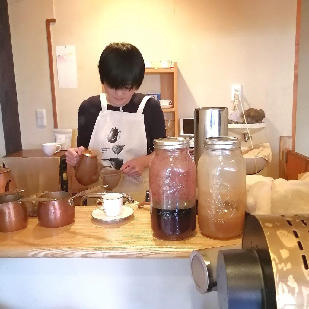 阿佐ヶ谷コーヒー「Bnei Coffee」コーヒー抽出
