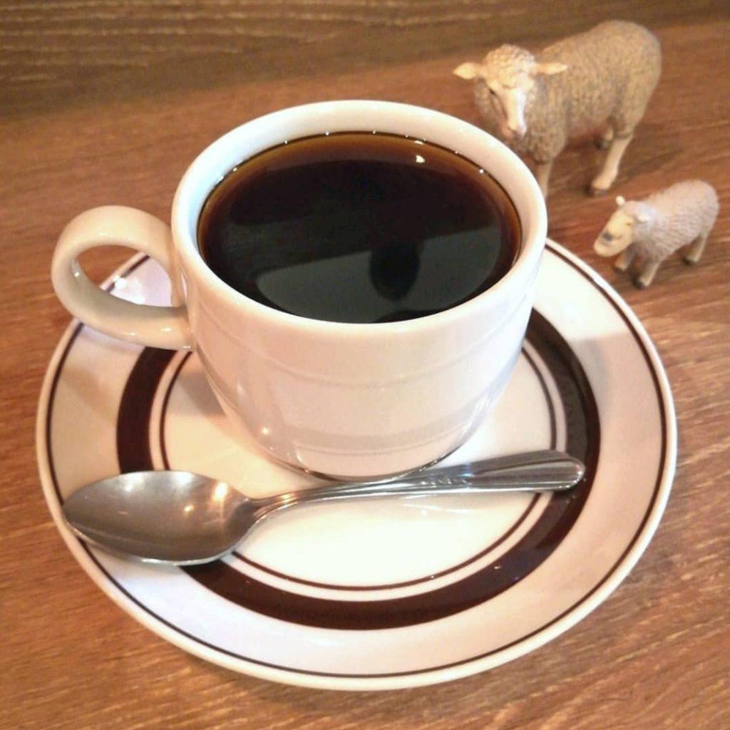 吾輩は山羊である・コーヒー浅煎りケニア