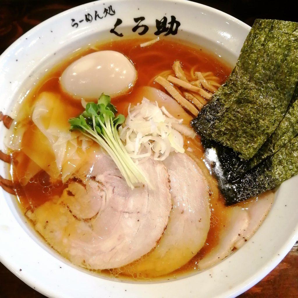 新高円寺ラーメン「くろ助」特製醤油ラーメン