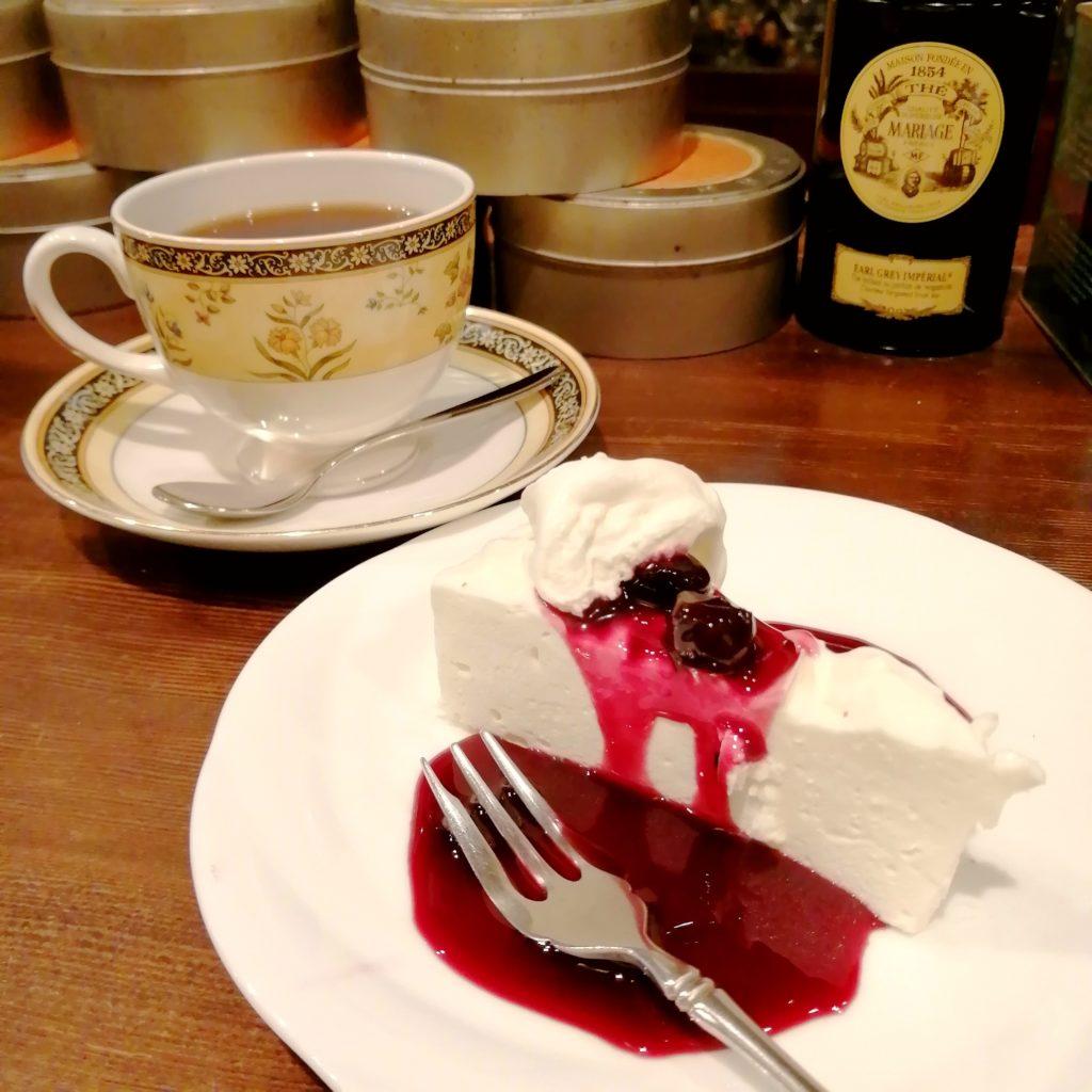 高円寺喫茶店「ポピンズ」ケーキセット