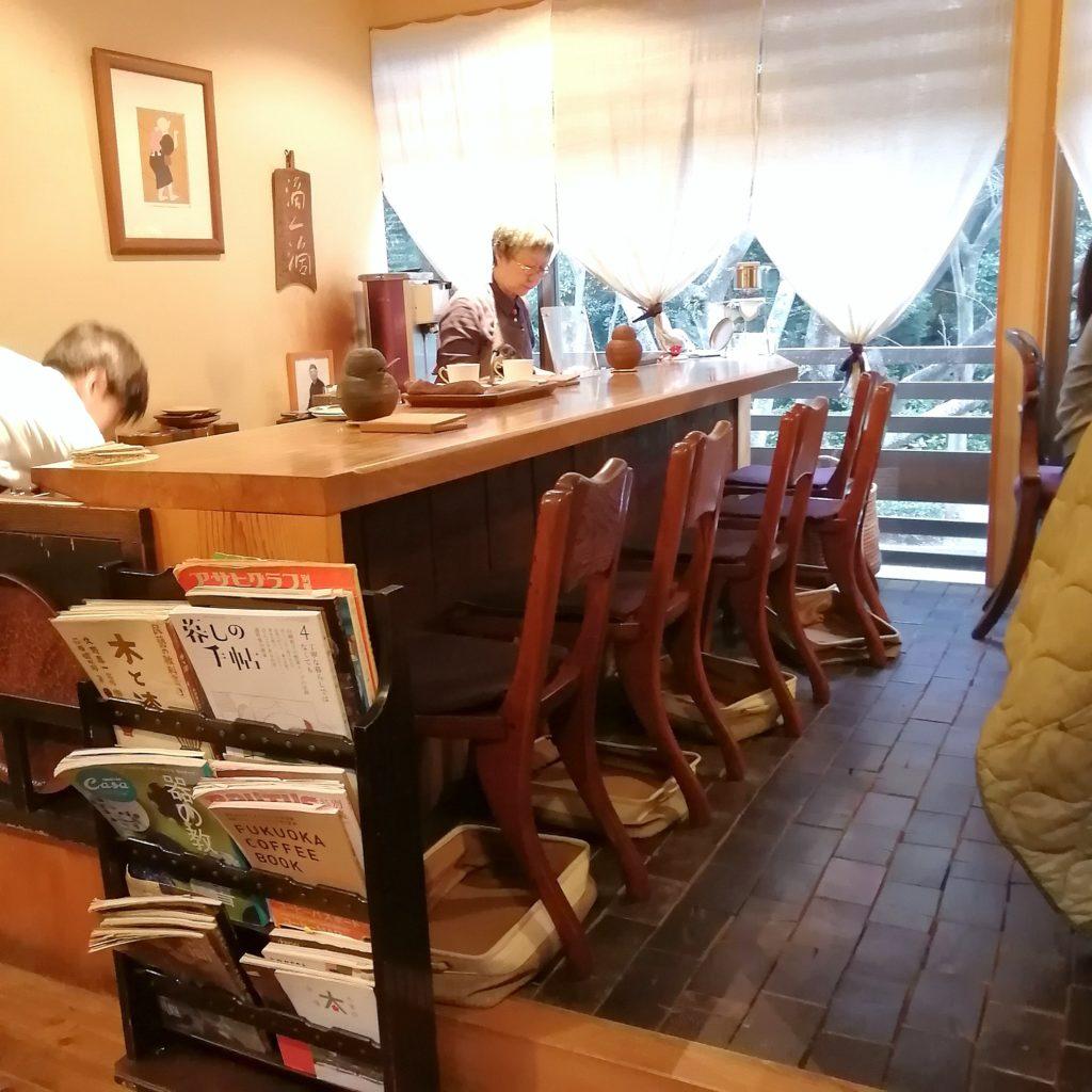 福岡コーヒー「珈琲美美」2階カウンター