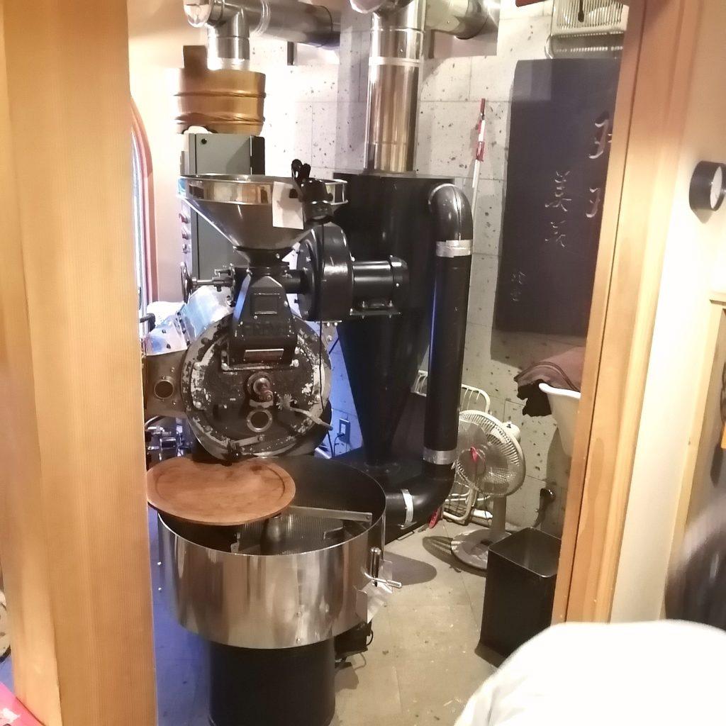 福岡コーヒー「珈琲美美」焙煎室