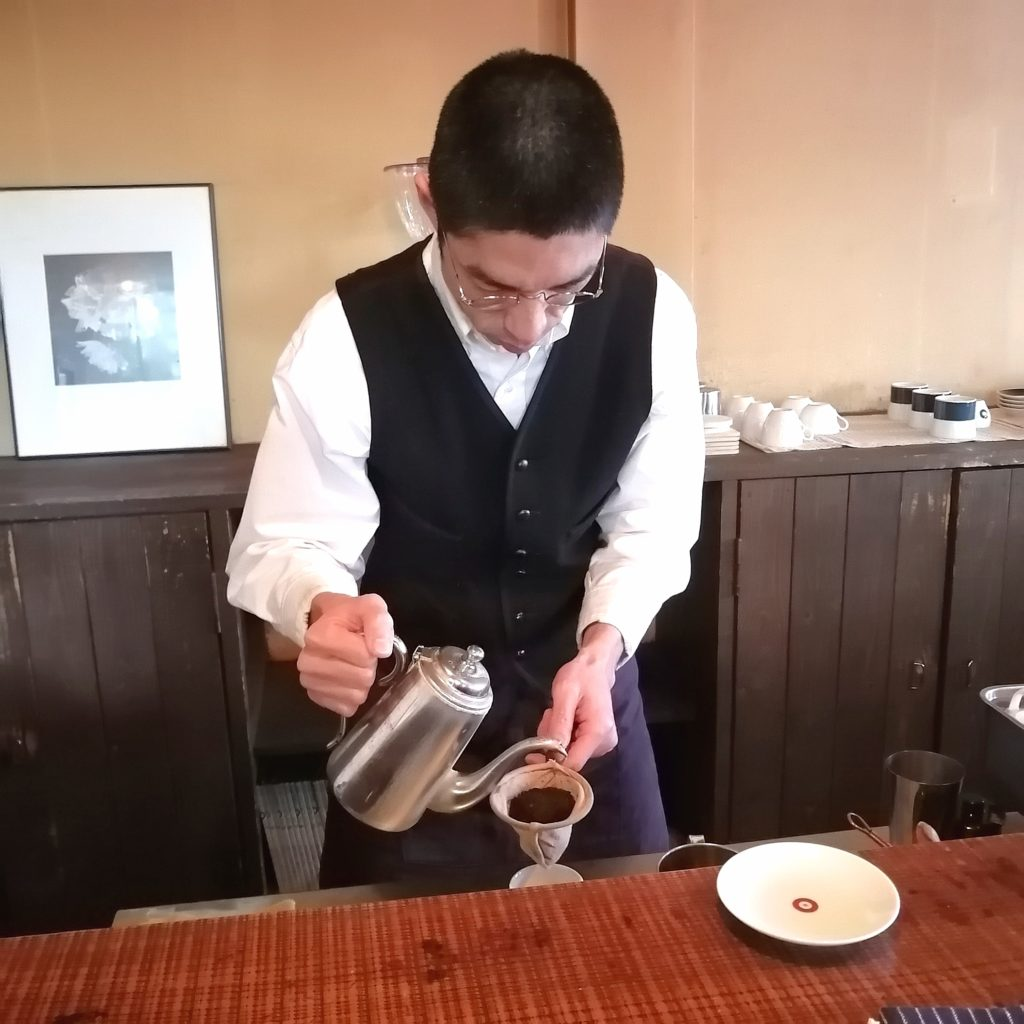 福岡コーヒー「手音」ドリップ