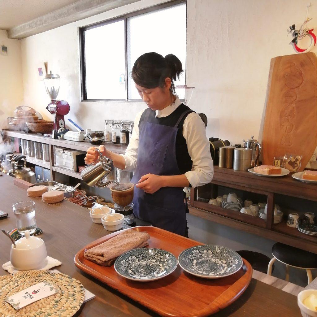 福岡コーヒー「マスカル珈琲」コーヒードリップ