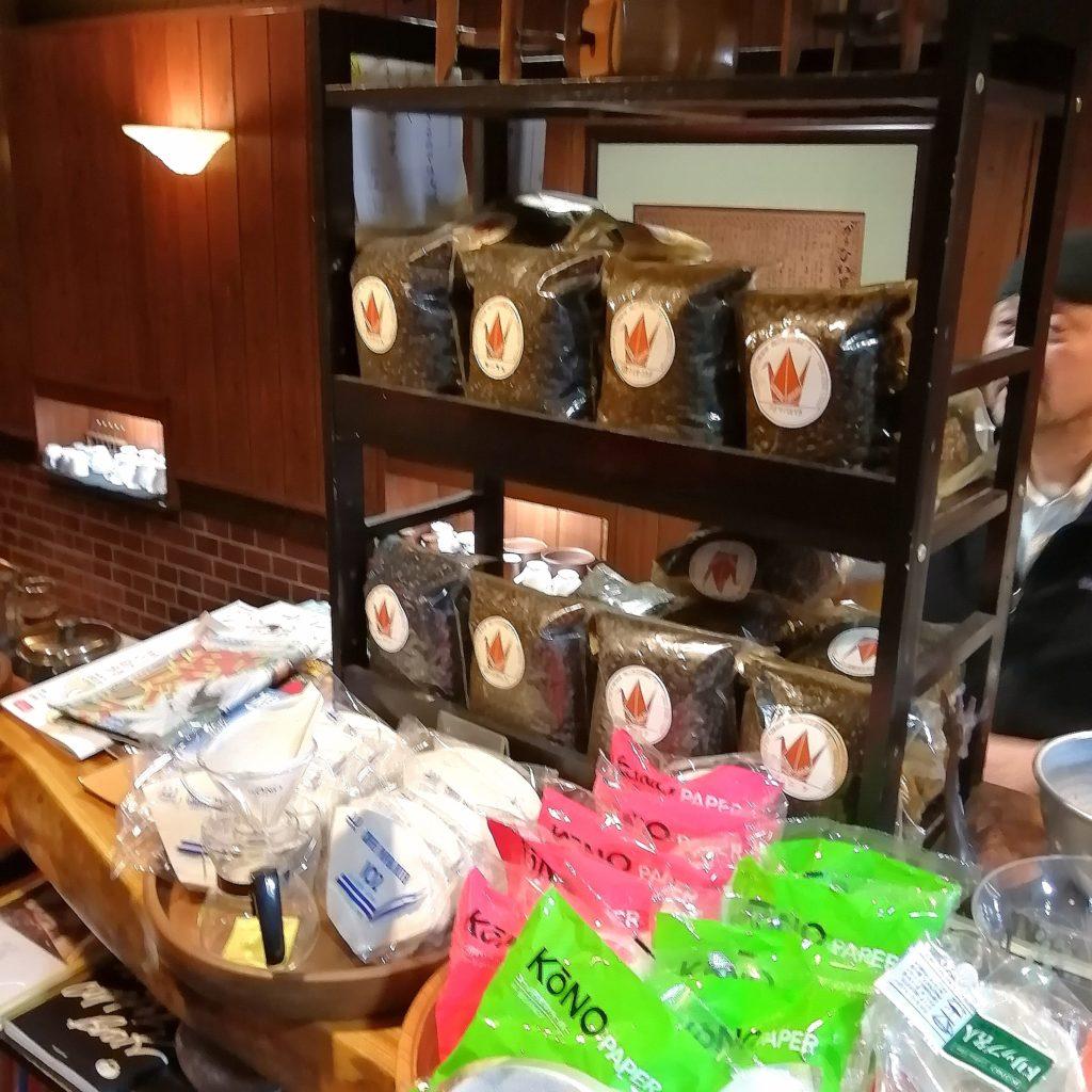 岡山コーヒー「折り鶴」物販