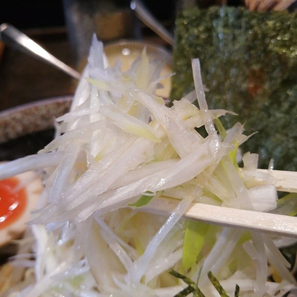 新高円寺ラーメン「麺や天鳳」つけ麺全部入り・白髪ねぎ