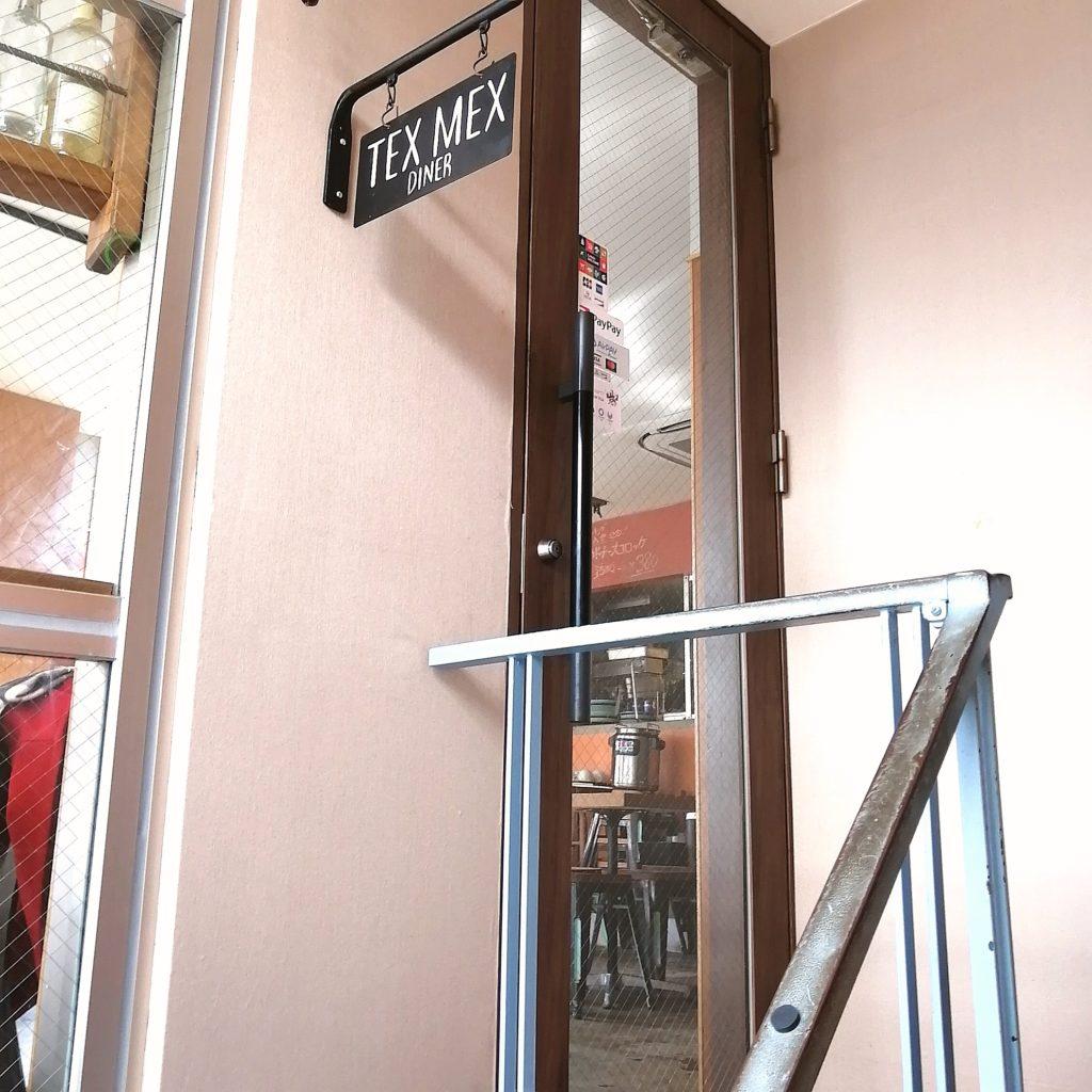高円寺ステーキ「TEX MEX DINER バーボンハウス」2階入り口
