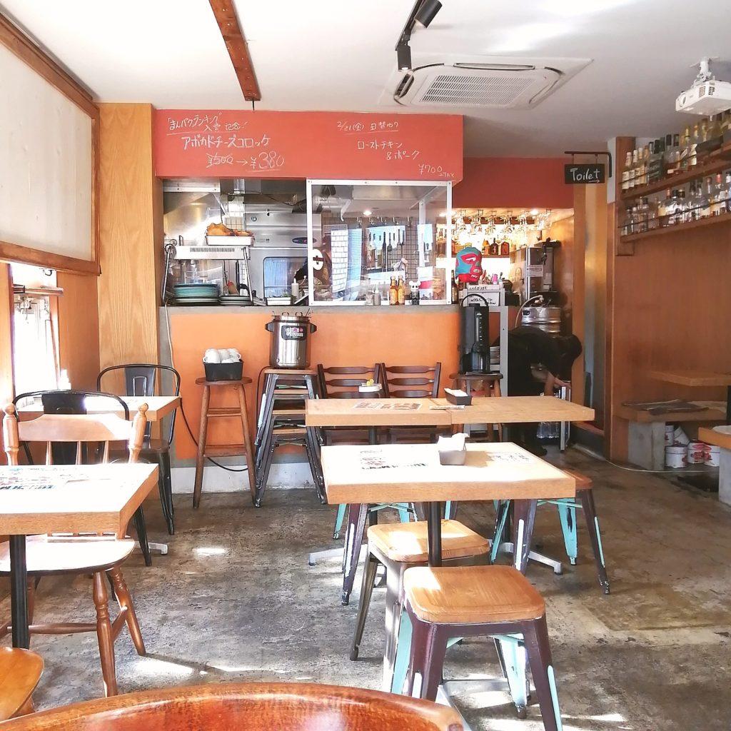 高円寺ステーキ「TEX MEX DINER バーボンハウス」店内カウンター側