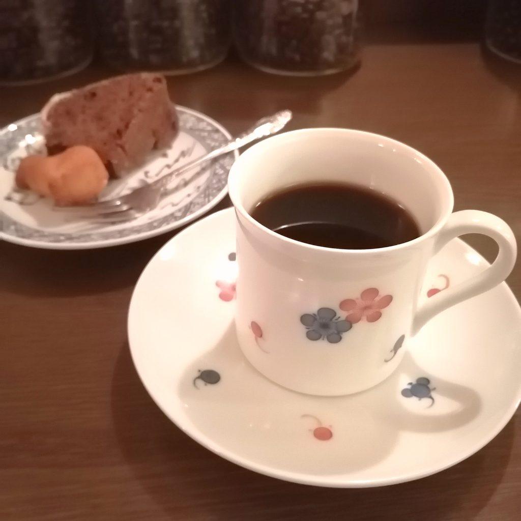 四ツ谷コーヒー「猫廼舎」メニュー・サビネコと焼き菓子