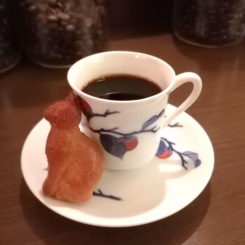四ツ谷コーヒー「猫廼舎」メニュー・イエメンモカマタリとフィニャンシェ