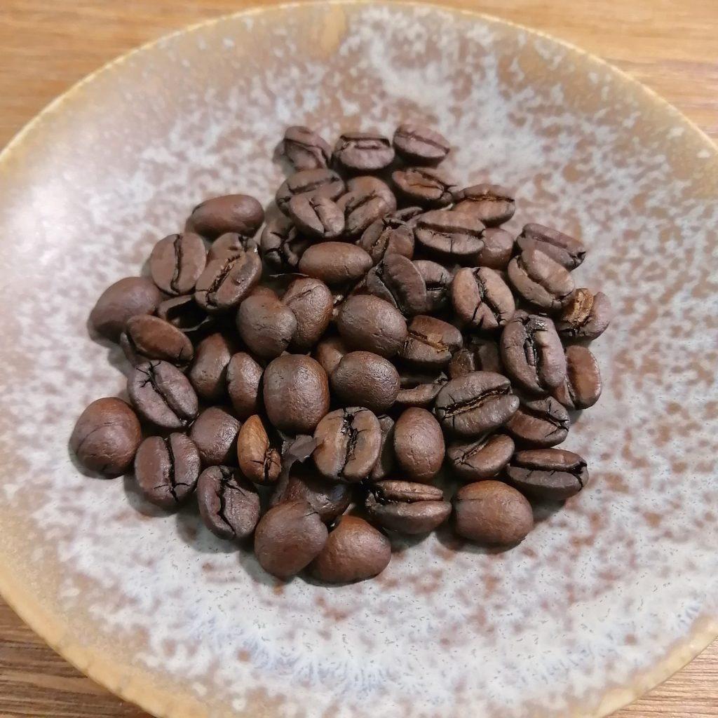 コーヒー焙煎「繁田珈琲焙煎倶楽部」1回目の焙煎・ブラジルジアマンチーナヨシマツ