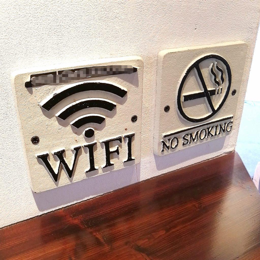 高円寺フルーツジュース「果樹源」店内・Wi-Fi完備