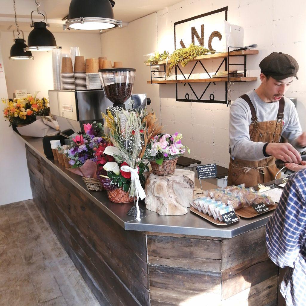 高円寺コーヒー「INCredible COFFEE(インクレディブルコーヒー)」店内・カウンター