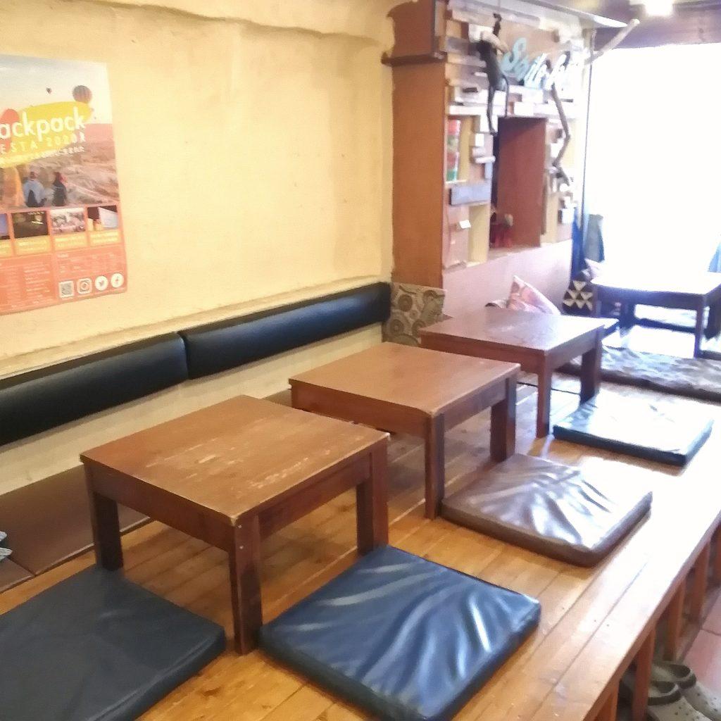 新高円寺カフェ「SMILE EARTH」店内・座敷席