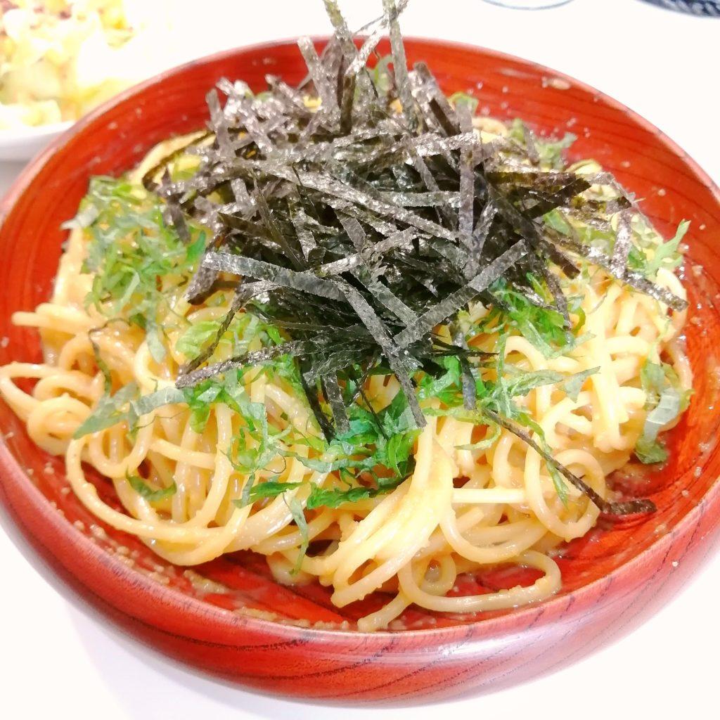 高円寺パスタ「HIDE」タラコとウニのスパゲティ