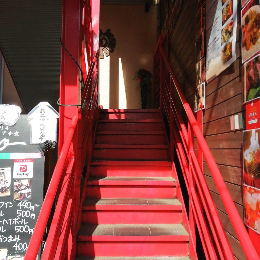 高円寺イタリアン「bungo(ブンゴ)」階段