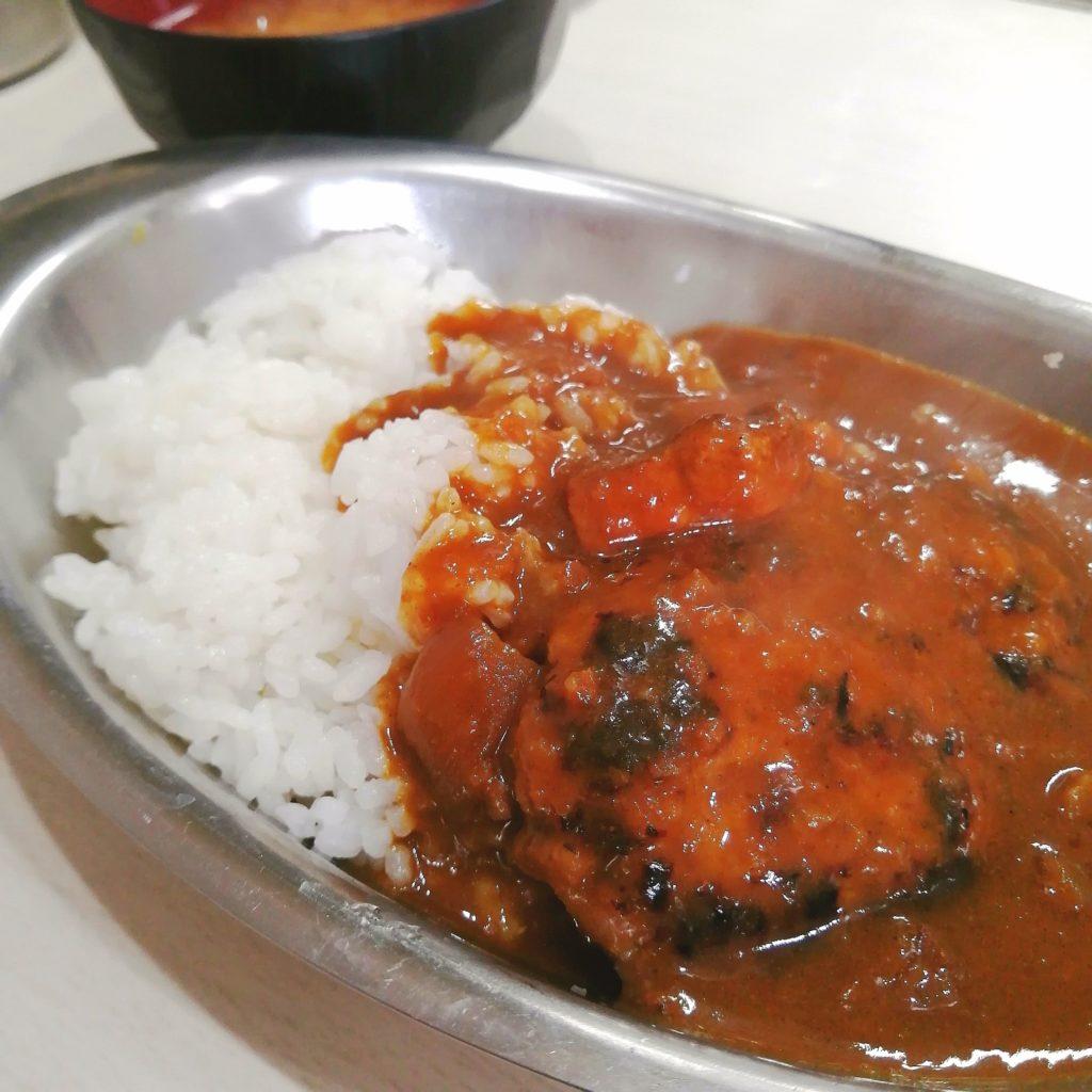 高円寺洋食「クロンボ」ハンバーグカレー