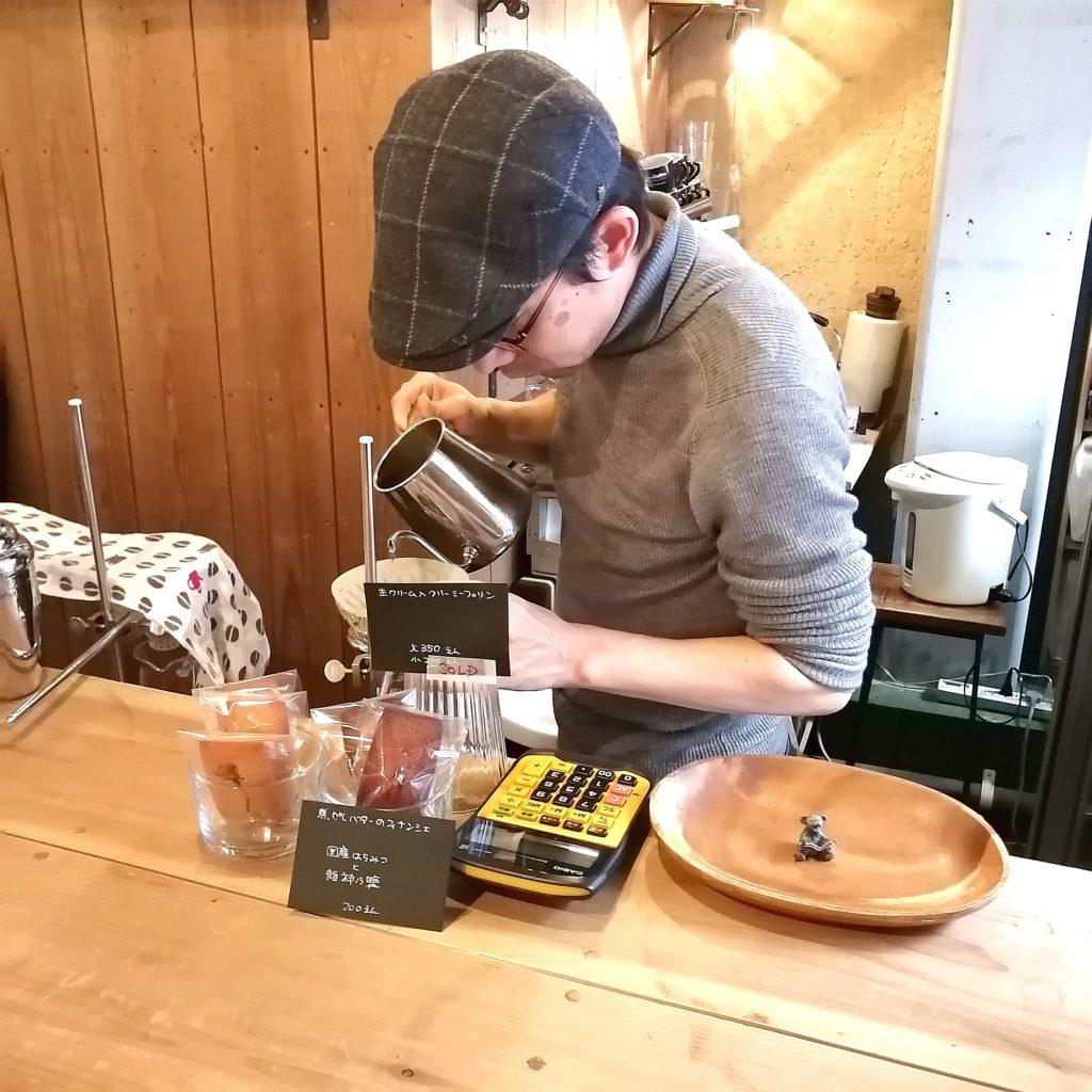 三鷹コーヒー「kissa by go café and coffee roastery」goさん抽出