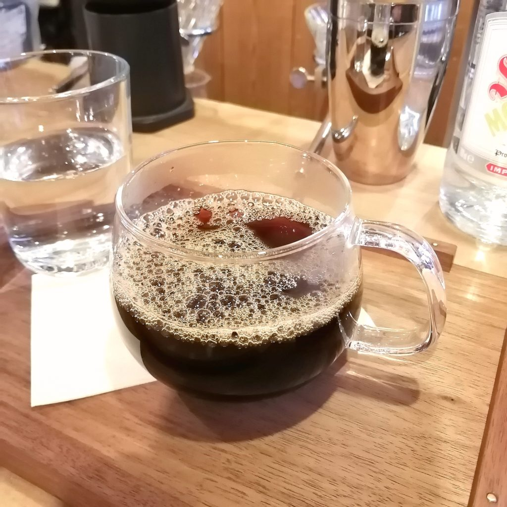 三鷹コーヒー「kissa by go café and coffee roastery」グアテマラ
