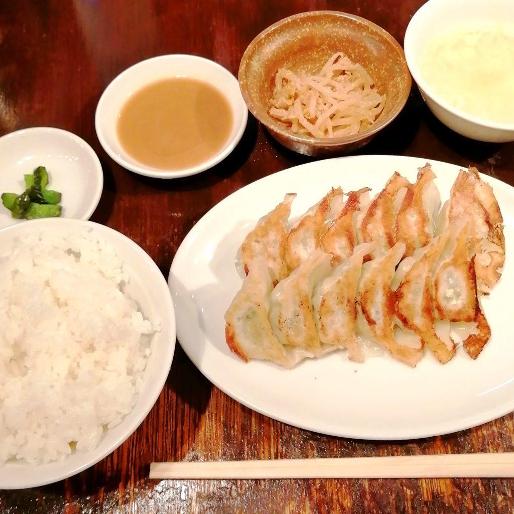 高円寺餃子「丸山餃子製作所」餃子ランチ
