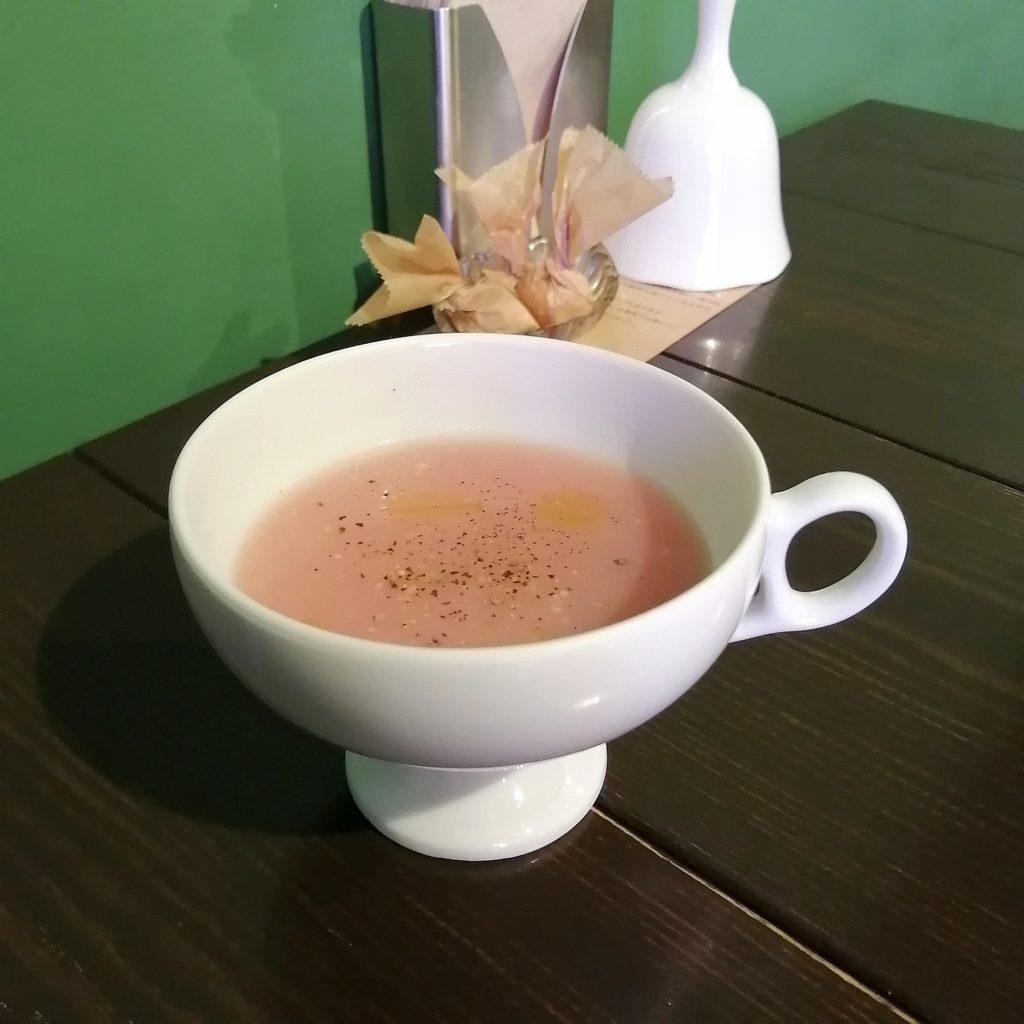 高円寺紅茶「サルトリイバラ喫茶室」食前スープ