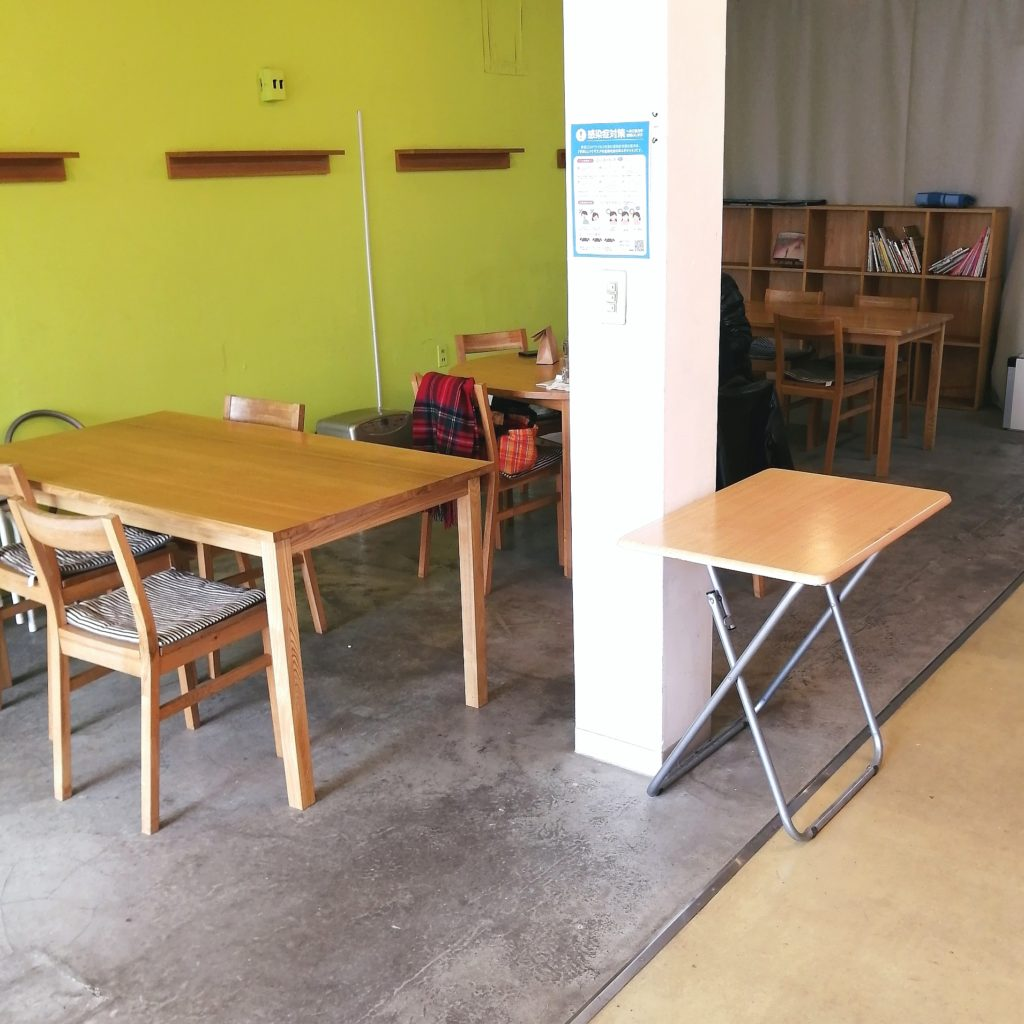 小平カフェ「洋菓子店ANCO」イートインスペース