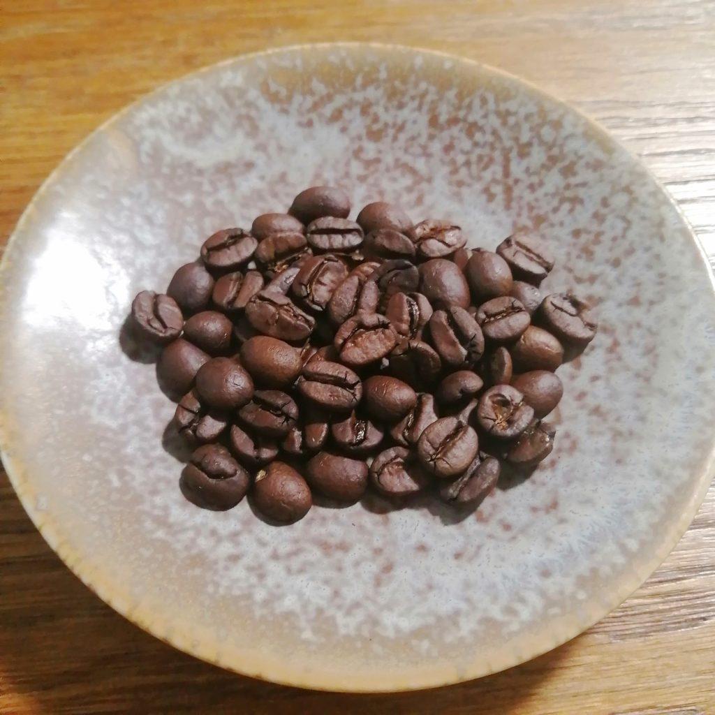コーヒー焙煎「繁田珈琲焙煎倶楽部」1回目の焙煎豆