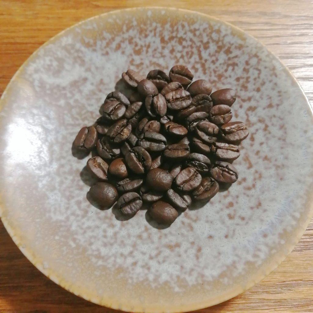 コーヒー焙煎「繁田珈琲焙煎倶楽部」2回目の焙煎豆