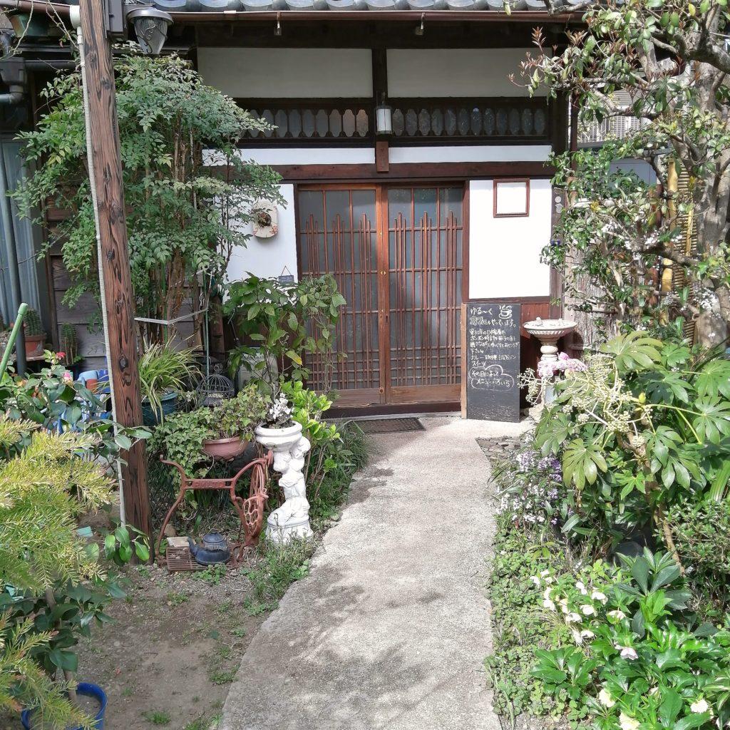 高円寺カフェ「こころみ」お庭