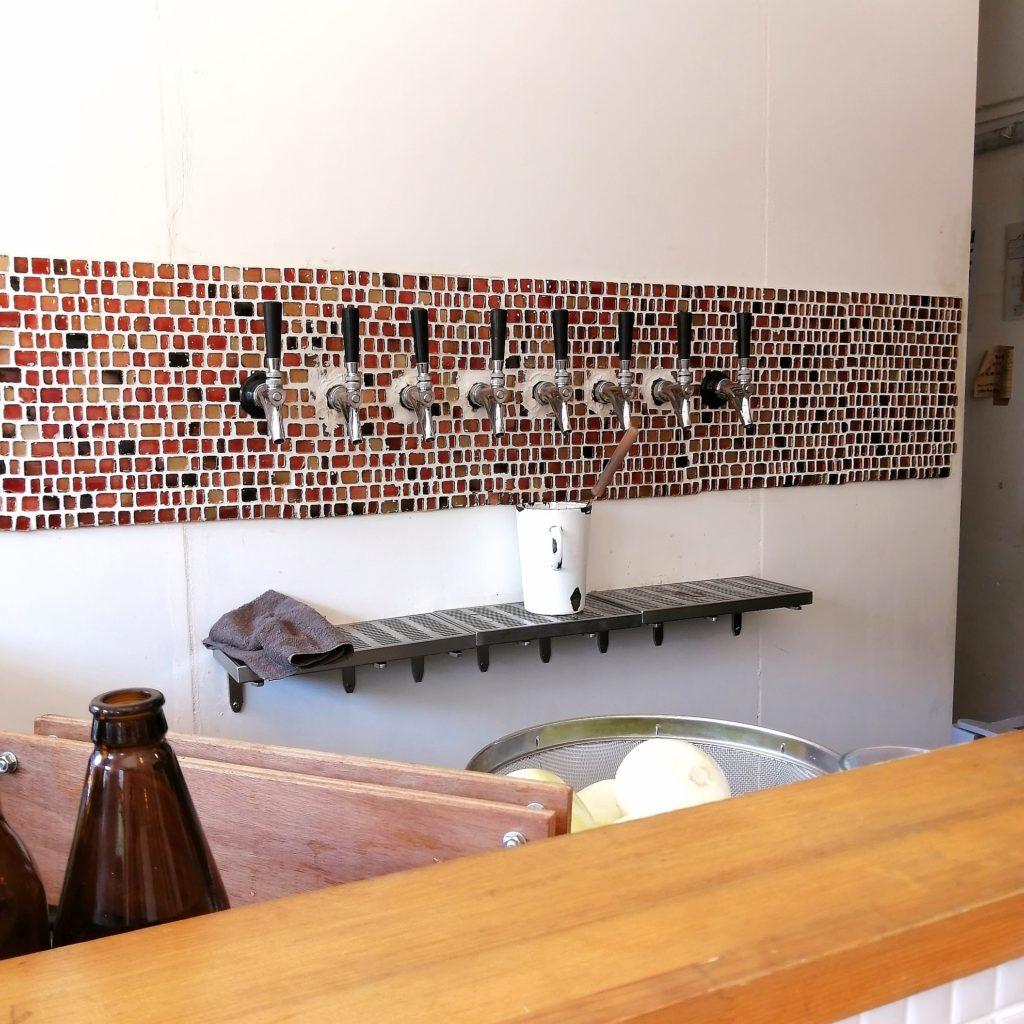 高円寺カレー「アンドビール」ビール注ぎ口
