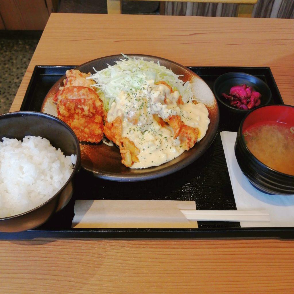 新高円寺唐揚げ「鶏千」唐揚げチキン南蛮定食