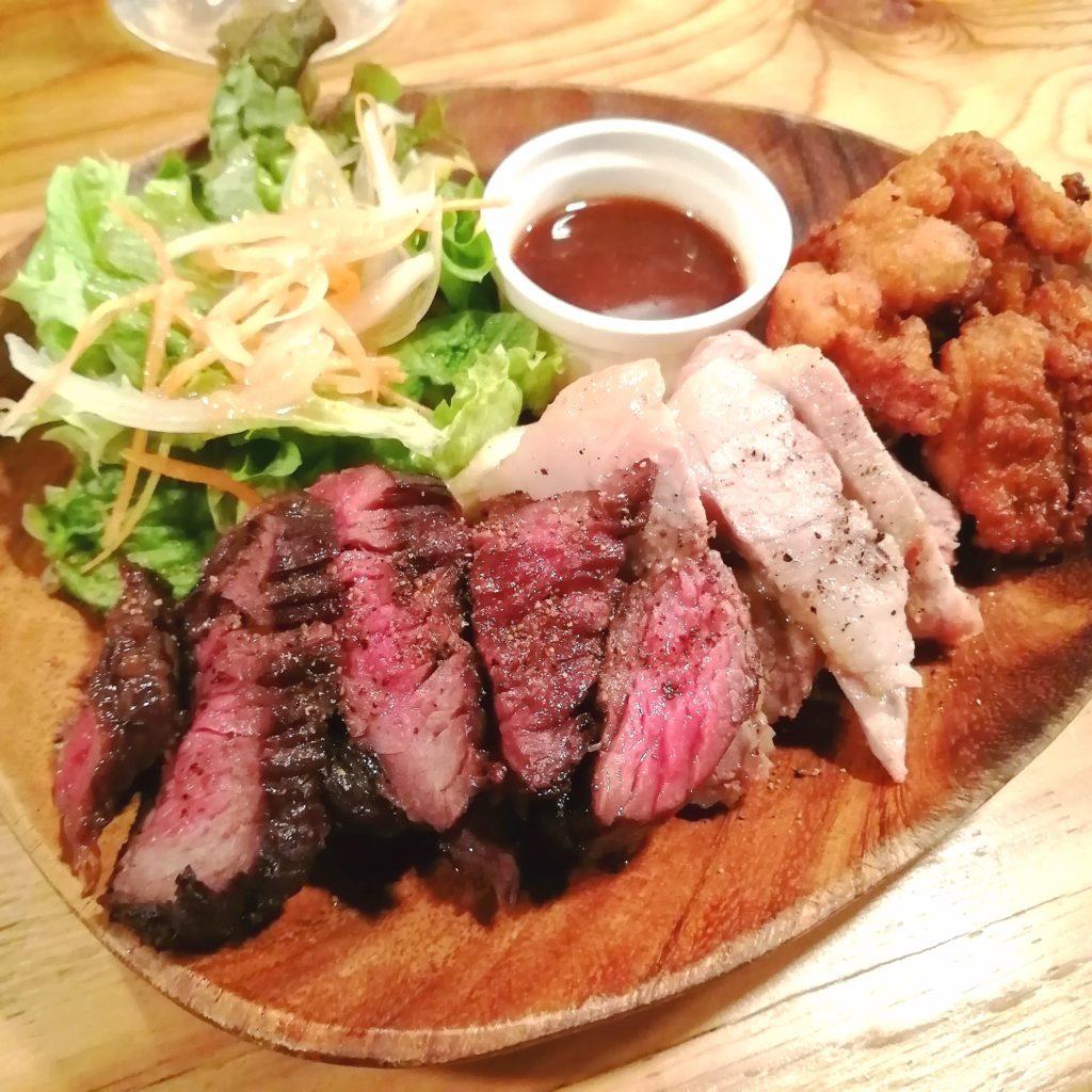 高円寺肉料理「ブラチョーラ」肉あいもりステーキプレート