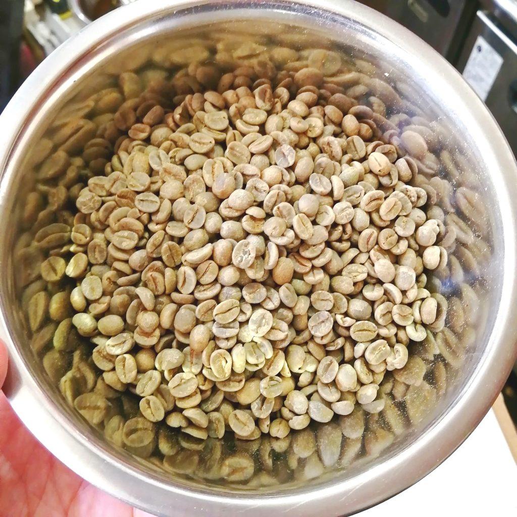 コーヒー焙煎「繁田珈琲焙煎倶楽部」ブラジル・ジアマンチーナヨシマツ2019生豆