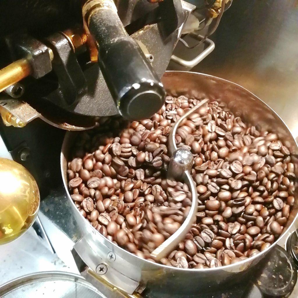 コーヒー焙煎「繁田珈琲焙煎倶楽部」1回目の焙煎