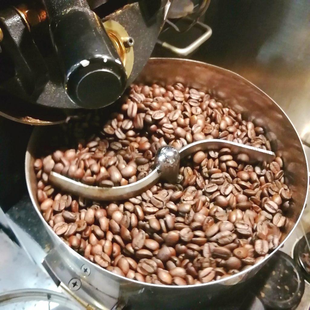 コーヒー焙煎「繁田珈琲焙煎倶楽部」2回目の焙煎