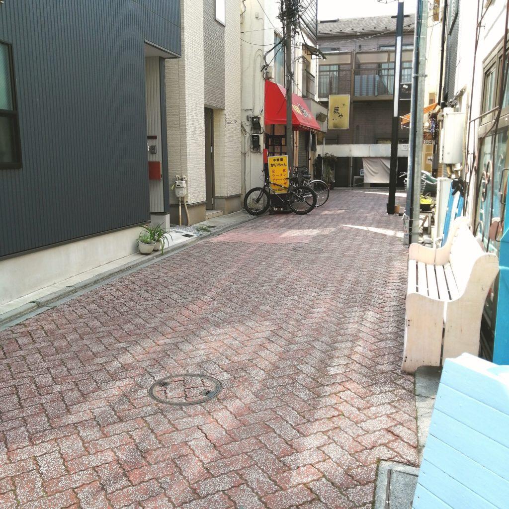 新高円寺テイクアウト中華「櫂ちゃん」お店は一番突き当り左