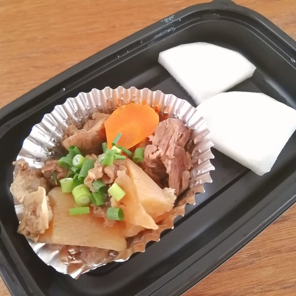 高円寺テイクアウトお弁当「播州酒場うぶ」牛ハラミステーキ弁当・おばんざい
