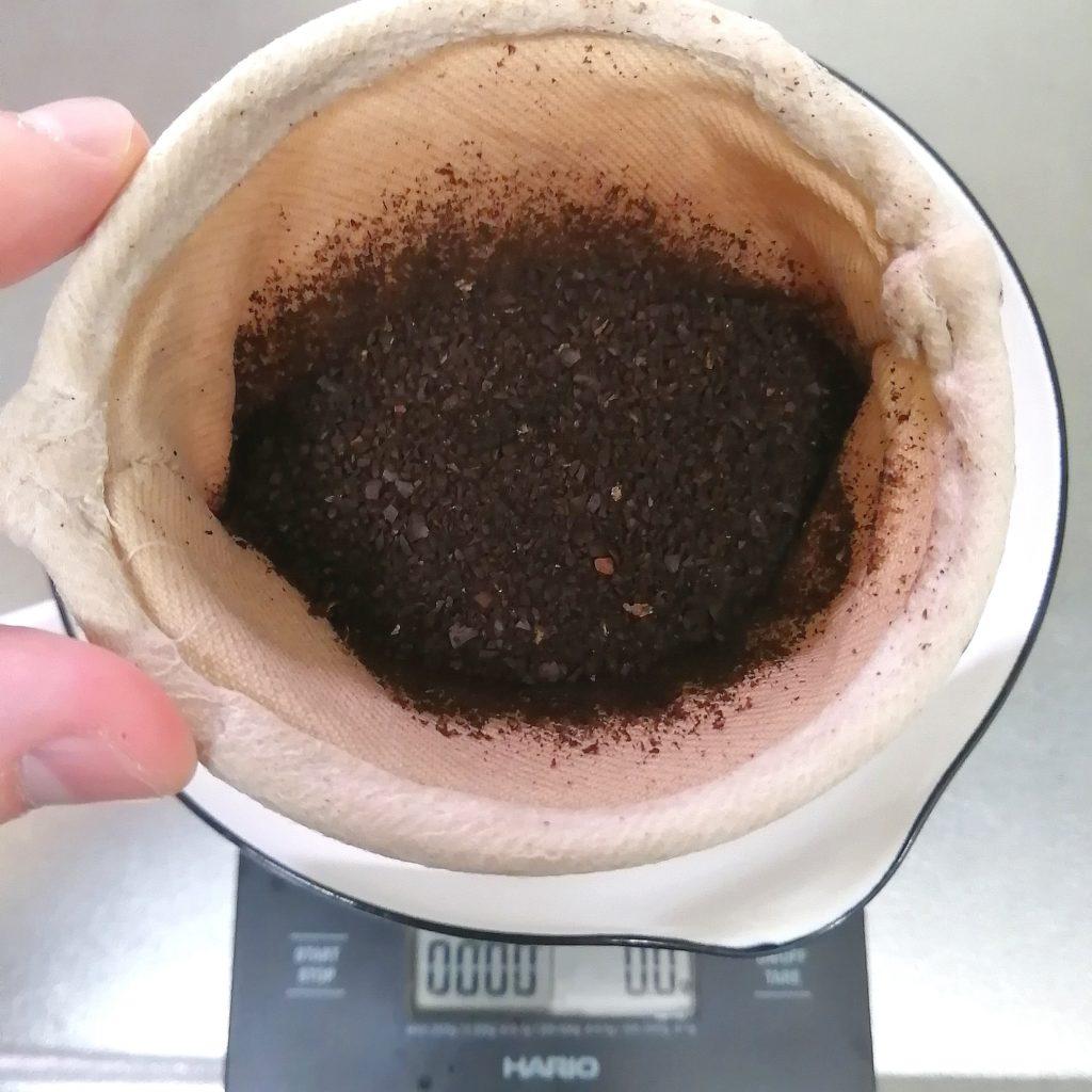 阿佐ヶ谷コーヒー豆「Bnei Coffee」ネルドリップ