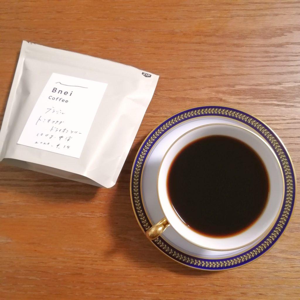阿佐ヶ谷コーヒー豆「Bnei Coffee」コーヒー豆・ブラジル・トミオフクダDOT・実飲