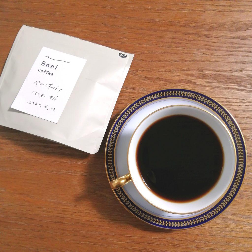 阿佐ヶ谷コーヒー豆「Bnei Coffee」コーヒー豆・ペルー・オルキデア・実飲
