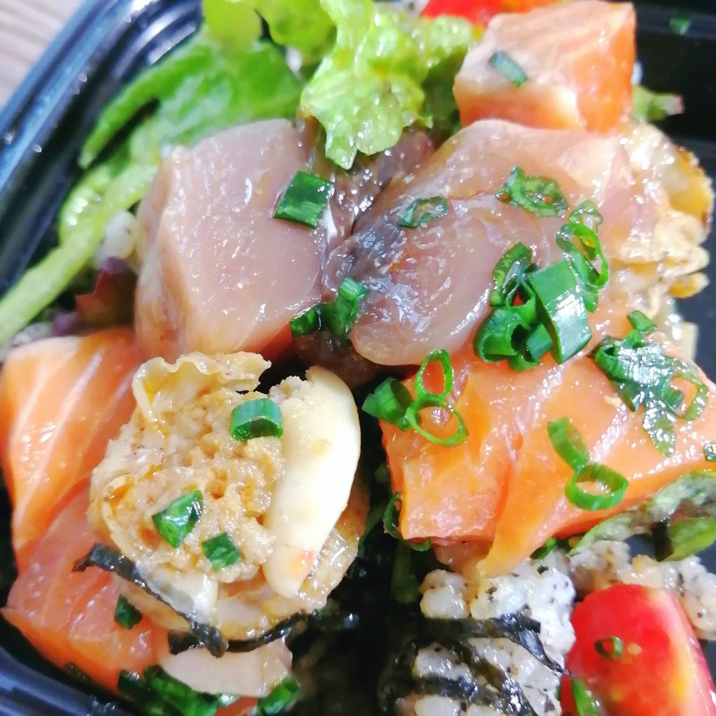 高円寺テイクアウト「BUNGO(ブンゴ)」ピリ辛漬け丼・お刺身は3種類