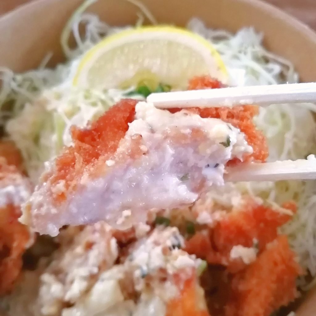 高円寺テイクアウトお弁当「とりかつ たるたる 金いろ」ささみカツ&ももカツセット・ももカツ