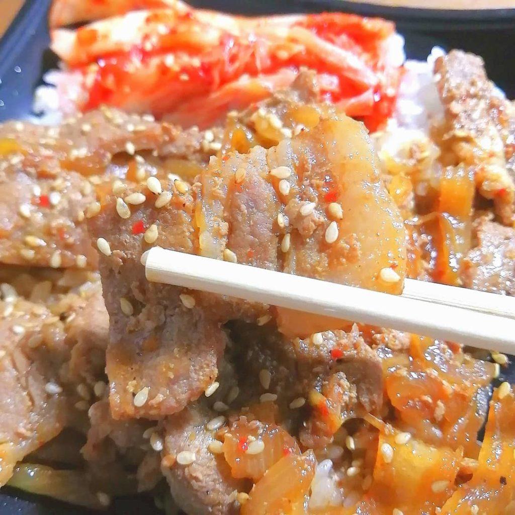 高円寺テイクアウト「肉問屋直営焼肉 肉一」カルビ弁当・実食
